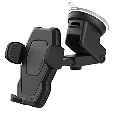 Encased Galaxy S10 Car Phone Holder (fits Samsung Models S10 S10+ S10e, S20, S20 Plus, S20 Ultra, Note 9, Note 10 Plus) - Dock Includes Dash & Window Mount (Case Friendly Design)