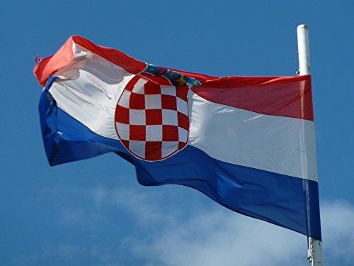 LAMINATED POSTER National Colours Flag Croatian Flag Emblem Croatia Poster Print 24 x 36