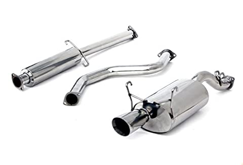 Yonaka Honda Civic 92-95 3DR Hatch Performance Catback Exhaust DX/Si Only