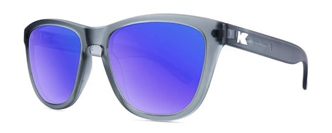 Gafas de sol Knockaround Premium Frosted Grey / Moonshine Polarizadas