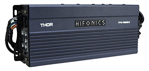Hifonics TPS-A600.5 Compact Five Channel, Power Sports Amplifier
