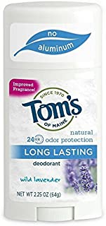 product image for Tom's of Maine Natural Long-Lasting Deodorant Stick Lavender 2.25 Oz (Pack of 12)