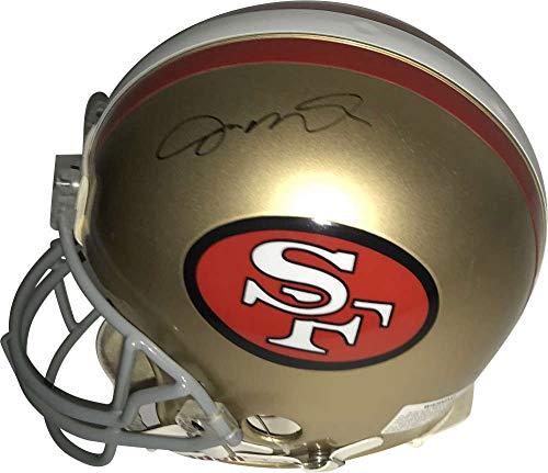Joe Montana Signed Autographed PROLINE 49ers Helmet Upper Deck UDA