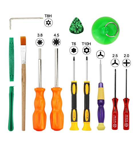 Triwing Screwdriver for Nintendo - Professional Full Triwing Screwdriver Repair Tool Kit,3.8mm and 4.5mm Security Screwdriver Game Bit Tool Set for Nintendo Switch Joycon/Nintendo Wii/DS /DSL/GBA