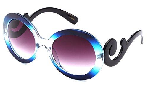 Newbee Fashion - Kyra Oversized Cateye Design Fashion Sunglasses for - 2017 Sunglasses Women
