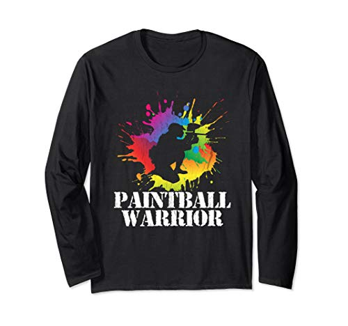 Paintball Warrior Paintball Player Birthday Party L SLEEVE