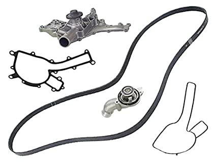Amazon Com Mercedes Amg 03 11 Rebuilt Coolant Pump Belt 87c