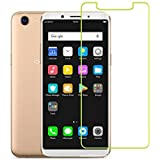 M.G.R.J Tempered Glass Screen Protector With 0.33mm Ultra Slim 9H Harness, 2.5D Round Edge, Crystal Clear For Oppo F5
