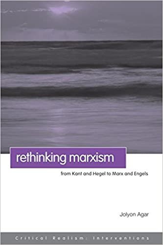 Ebook-Magazine werden heruntergeladen Rethinking Marxism: From Kant and Hegel to Marx and Engels (Critical Realism: Interventions (Routledge Critical Realism)) by Jolyon Agar 041541119X ePub