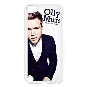 iPod 5 White Cell Phone Case HUBYLW1673 Olly Murs Custom Unique Phone Case Cover