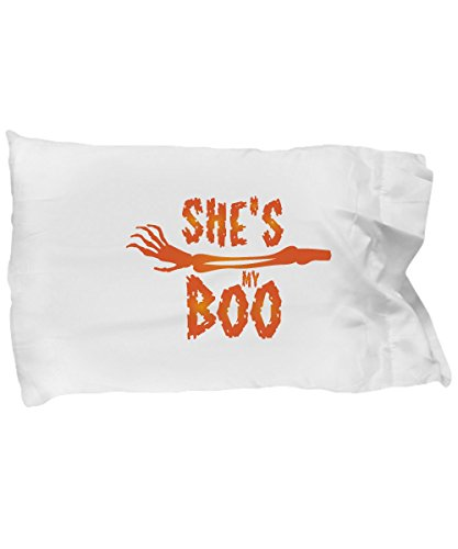 Pillow Covers Design She's My Boo Halloween Love