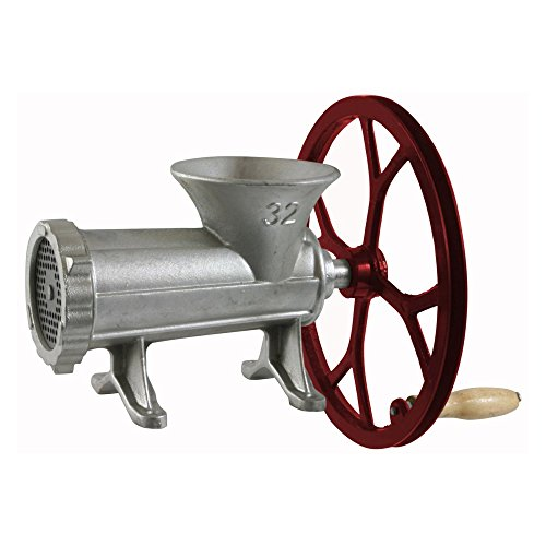 Sportsman Manual Meat Grinder with Pulley (Manual Meat Grinder Cast Iron compare prices)