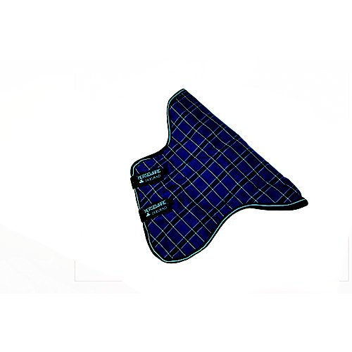 Turnout Rhino Original (Rhino Turnout Blanket Hood - 150g - Size:XLarge Color:Navy/Lt Blue Check/Navy)