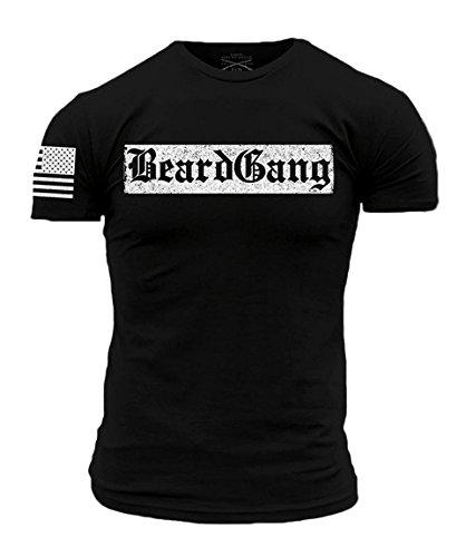 Adam Tee (Grunt Style ACAL - Beardgang Men's T-Shirt, Color Black, Size X-Large)