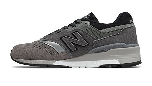 Image of New Balance Men's M997BRK, Grey, 8.5 D US