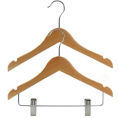 hangerworld-kids-wooden-top-clip-clothes-hangers-118-pack-of-30