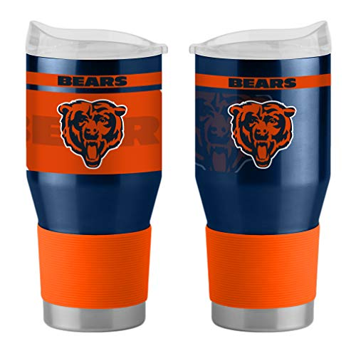 Chicago Bears Travel Tumbler - Boelter Brands NFL Chicago Bears 523890 Travel Tumbler, Team Color, 24 oz