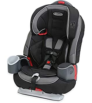 Graco Nautilus 65 DLX 3-in-1 Harness Booster Car Seat, Grand