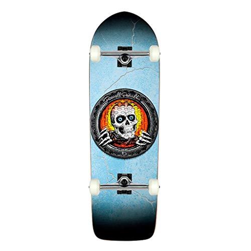 (Powell-Peralta Skateboard Complete Pool Light Ripper Blue 10