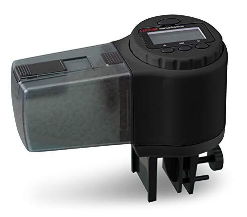 LEECOM Alimentador Automático de Peces | Comedero Programable de Alta Calidad | Última Tecnología LCD | Ideal para Acuario, Pecera, Tanques de Peces y ...