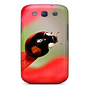Wph-1129-siL RMCase Awesome Case Cover Compatible With Galaxy S3 - Dark Ladybug