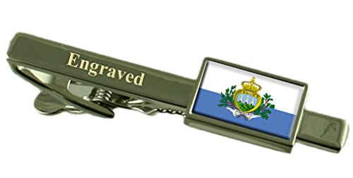 san-marino-flag-engraved-personalised-tie-clip