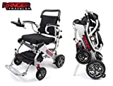 Porto Mobility Upgraded 2019 Ranger Traveler X5 Ultra Portable Premium Folding Power Wheelchair Lightweight Heavy Duty Dual Lithium Battery Airplane Accepted Electric Wheelchair (Free Travel Case)