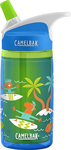 CamelBak Eddy Kids Insulated Back To School Bottle, Surfer Kids, 0.4 L