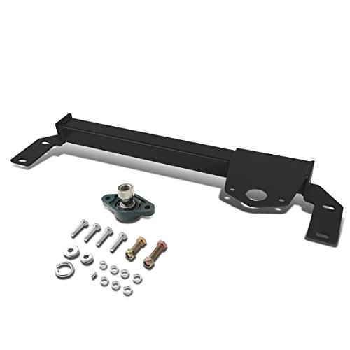 Dodge Ram 4WD/AWD Mild Steel Steering Gear Box Front Stabilizer Bar / Brace (Black) - BR BE 2nd gen (Steering Support)