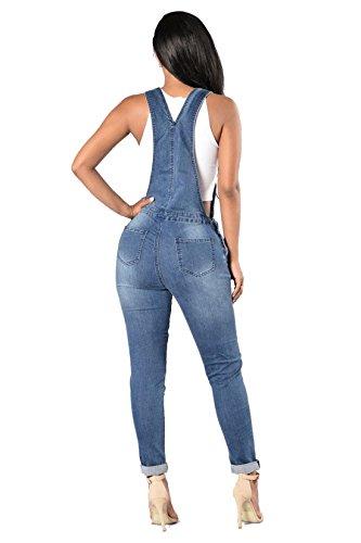 elástico Dunland de Pantalón vaquero Stretch Mujer Para Skinny troncos Jeans Vaqueros tw7fwB