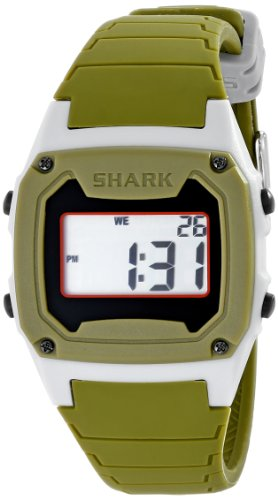 Freestyle Men's 103322 Shark Classic LCD Digital Display Japanese Quartz Green - Lcd Shark