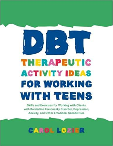 Amazon Dbt Therapeutic Activity Ideas For Working With Teens