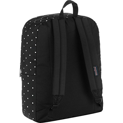 Superbreak Adult Unisex Black Polka Backpack Jansport Black Dot Label vqR4xaywyA