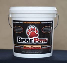 Bear Paw Hand Cleaner, 4 Pound Tub case of 4