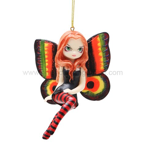 Strangeling Fairy Costumes (Vivid Wings Strangeling Fairy Ornament Figurine By Jasmine Becket Griffith)