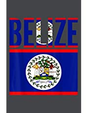 Notebook Planner Belizean Gift Belize Country Flag: Personal Budget, Meeting- Over 100 Pages, Planner, Goal, Tax, 6x9 inch Notebook Planner