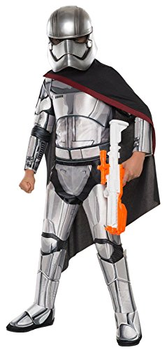 Super Deluxe Captain Phasma Costume - Large (Stormtrooper Halloween Costumes)