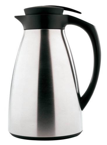 - Copco 2510-4344 Stainless Steel Thermal Carafe, 1-Quart, Silver