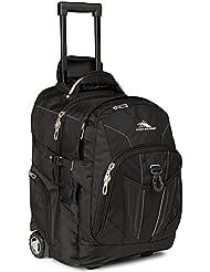 High Sierra Xbt, Wheeled Backpack, Black, International Carry-On