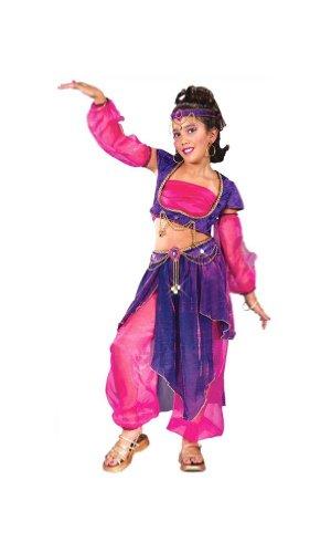 Arabian Night Child Costume - Medium (Genie Halloween Makeup)