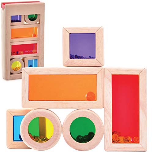 wooden toy tops - 8