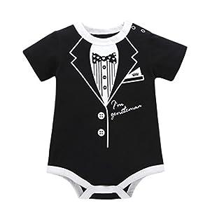 0-24M Toddler Infant Kids Baby Summer Casual Print Romper Short Sleeve Playsuit Jumpsuit