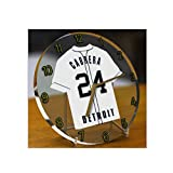 MAJOR LEAGUE BASEBALL - AMERICAN LEAGUE MLB JERSEY DESKTOP CLOCKS - ANY NAME, ANY NUMBER, ANY TEAM - FREE PERSONALISATION !! (Detroit Tigers)