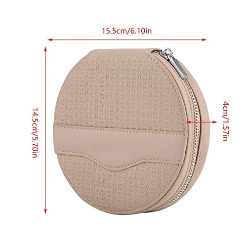 Premium leather Car Universal Round 24 Capacity Disc CD VCD DVD Storage Case Mini Bag Wallet Business Card Folder New Arrive Cards White Business Card Discs