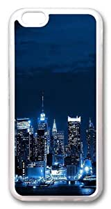 New York City Skyline world Custom Case For Samsung Note 4 Cover PC Transparent
