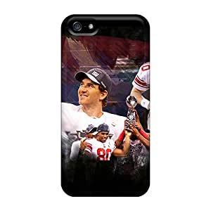 Plq6553pVXT Tpu Phone Case With Fashionable Look For Iphone 5/5s - New York Giants