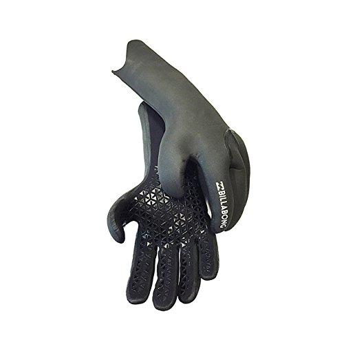 Billabong Furnace Carbon X 3mm 2018 5 Finger Wetsuit Gloves Large Black