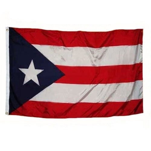 3x5 Puerto Rico Rican Weather Resistant Poly Flag 3x5' Banner Indoor Outdoor