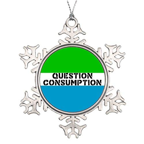 Valerie Tree Branch Decoration question Consumption Photo Christmas Snowflake Ornament -