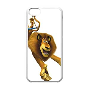 iPhone 5c Cell Phone Case White Madagascar I8250425